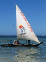 Local sailing with Peponi Water Sports